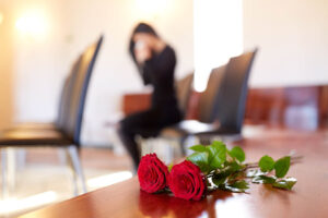 death of husband