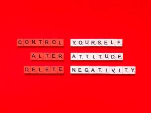 change negative attitudes