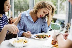 combat stress eating