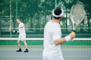 tennis game improvement